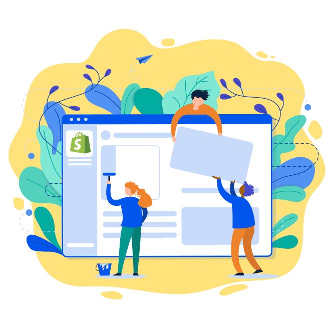 shopify web design norwich