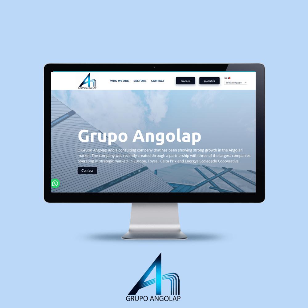 Grupo Angolap - Portuguese Web Design
